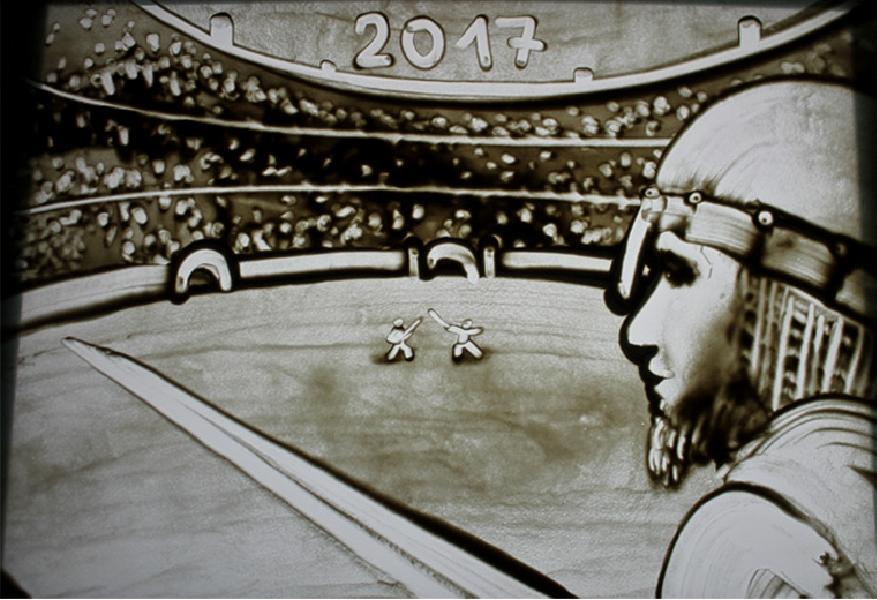 Dowis Light Art Kresleni Do Pisku Sand Art Malovani Do Pisku Show